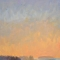 """New Moon Late Light <br /> 36 x 24"""" <br /> Oil on Canvas"""
