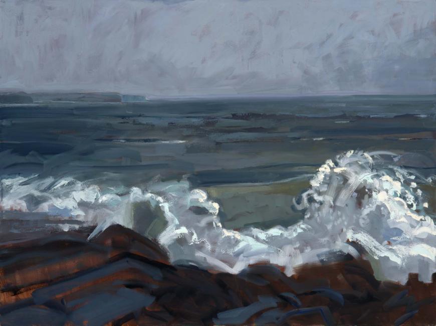 "Christmas Wind <br /> 30 x 40"" <br /> Oil on Canvas"