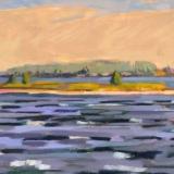 "Chunky So'wester<br />24x36""<br />Oil on Canvas"