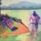 "BathingBeneath<br />12 x 12""<br />Oil on Canvas"