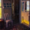 """Two Rooms <br /> 30 x 30"""" <br /> Oil on Canvas"""