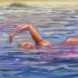 "Summer Favorites<br />24 x 24""<br />Oil on Canvas"