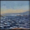"""As We Sit Here Tryptic II<br/>30 x 90""""<br/>Oil on Canvas"""