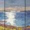"Hupper Island Triptych<br/>36 x 72""<br/>Oil on Canvas"